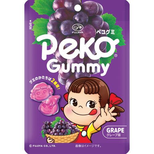Fujiya不二家 Peko造型QQ糖 葡萄