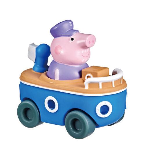 Peppa Pig粉紅豬小妹 小車車公仔組- 隨機發貨