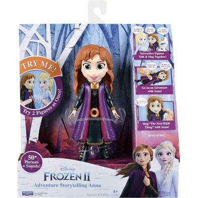 Disney Frozen迪士尼冰雪奇緣2音樂互動公仔 - 隨機發貨