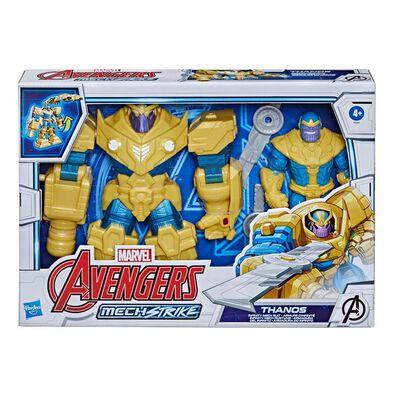 Marvel Avengers漫威復仇者聯盟 機械盔甲系列終極人物 7吋 薩諾斯 人偶