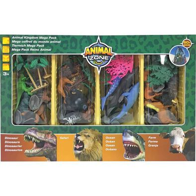 Animal Zone動物叢林 小恐龍迷你模型組