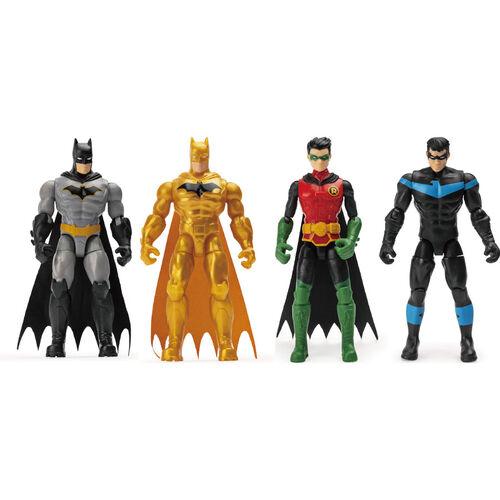Batman-4吋蝙蝠俠可動人偶 (混裝)