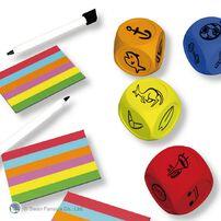 Swan Panasia Games新天鵝堡桌遊 妙筆神猜 骰子版 Draw'nRoll