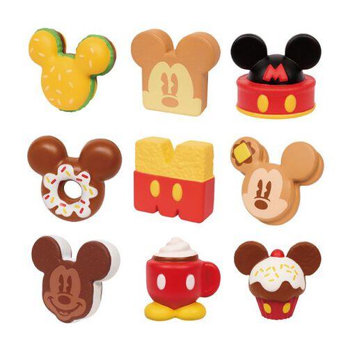Disney迪士尼卡哇伊系列 軟軟米奇甜點 - 隨機發貨