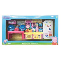 Peppa Pig粉紅豬小妹 廚房餐廳遊戲組