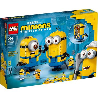 LEGO樂高小小兵系列 75551 Brick-built Minions Figures and their Lair