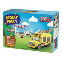 Banbao邦寶 史努比歡樂廣場系列 LN8006黃色校車2.0