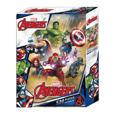 Marvel Avengers漫威復仇者聯盟 520片盒裝拼圖