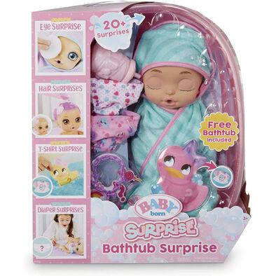 Baby Born睡袋寶寶驚喜泡澡樂 - 隨機發貨