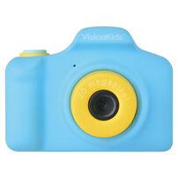 日本Vision Kids HappiCamu+ 2000萬像素可拍照兒童數位相機(兒童相機)-藍色