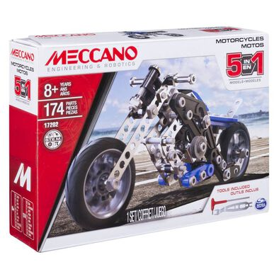 Meccano-5合1摩托車組