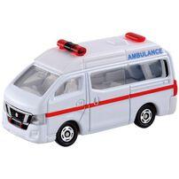 Tomica多美 No.018 日產nv350大篷車救護車