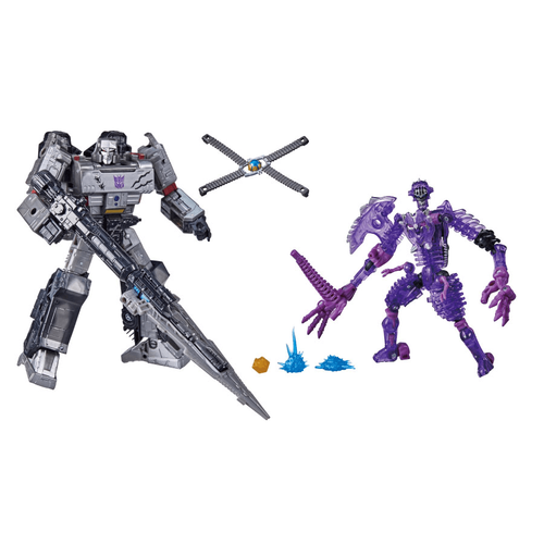 Transformers 變形金剛世代系列塞伯坦之戰N無敵戰將-MEGA+BONE