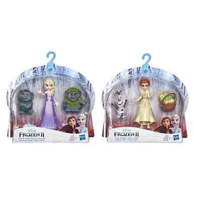 Disney Frozen迪士尼冰雪奇緣Frozen2迷你公主與陪伴配件組 - 隨機發貨