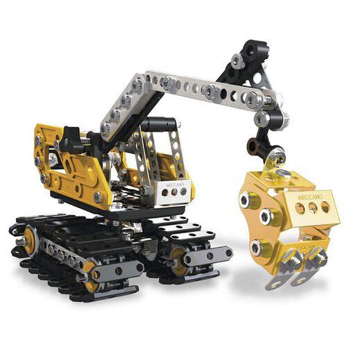 Meccano 二合一挖推土機變形組