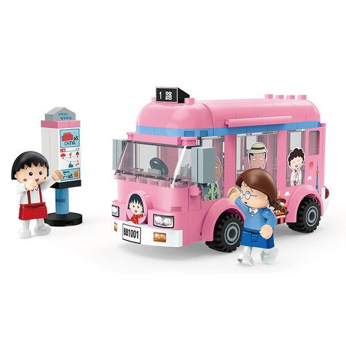 Banbao邦寶積木 8151 櫻桃小丸子積木系列 公共汽車