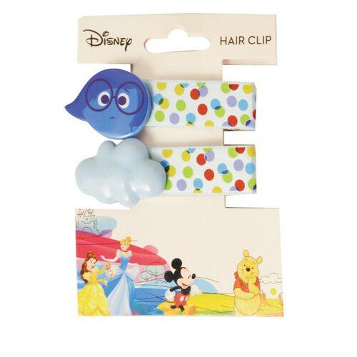Disney迪士尼 可愛憂憂髮夾 腦筋急轉彎