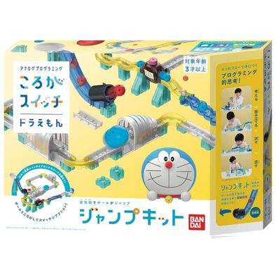 Doraemon多啦A夢 秘密道具軌道積木 空氣砲組