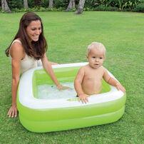 Intex 方型歡樂泳池(86*86*25cm)- 隨機發貨