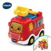 Vtech嘟嘟聲光互動車-消防車