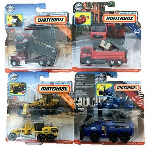 Matchbox火柴盒小汽車 工程系列
