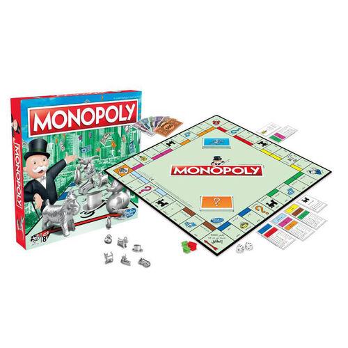 Monopoly地產大亨Monopoly經典 快速成交地產投資遊戲