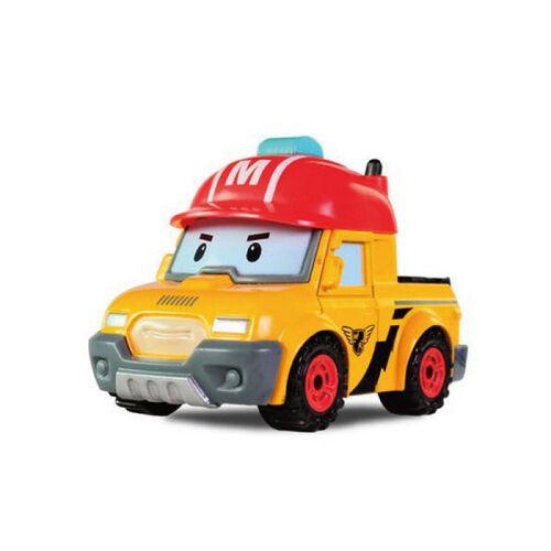 Robocar Poli波力救援小英雄-合金車馬克
