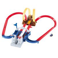 Hot Wheels風火輪Mario Kart庫巴城堡系列軌道組