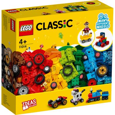 Lego樂高 LEGO Classic 11014 顆粒與輪子