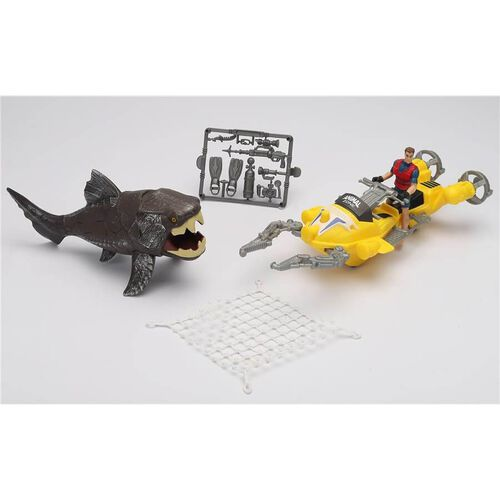 Animal Zone動物叢林 鯊魚冒險組 - 隨機發貨