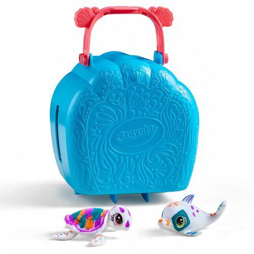 Crayola繪兒樂海洋寵物貝殼