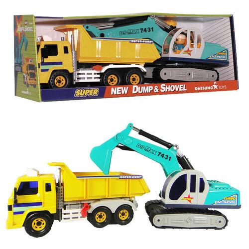 Daesung 卡車&挖土機組