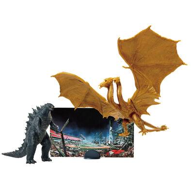 Godzilla哥吉拉2  3.5吋怪獸對決2入 - 隨機發貨