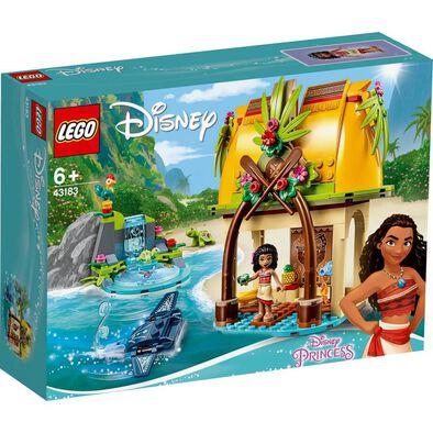 LEGO樂高 43183 莫娜的島嶼之家