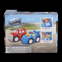 Speed City極速都市 Junior 寶寶聲光酷炫小車 -藍色
