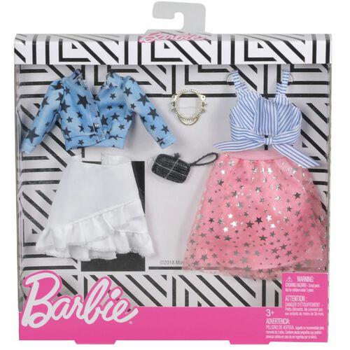 Barbie芭比時尚造型服飾組系列 (2套裝) - 隨機發貨