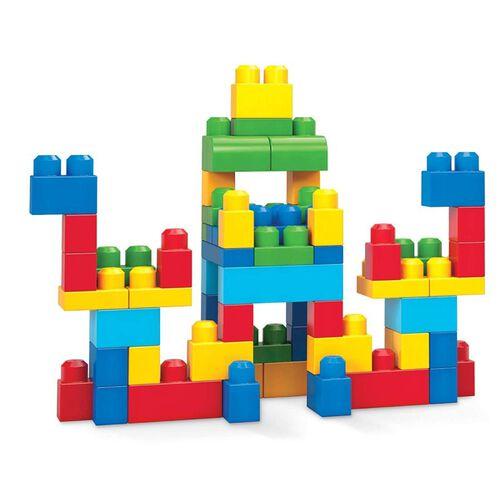 Mega Bloks美高積木60片積木袋(藍)