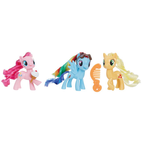 My Little Pony小馬寶莉小馬國女孩系列 小馬國好朋友組
