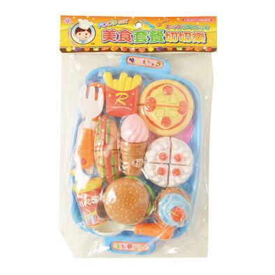 Tai Sing大生 家家酒玩具-漢堡套餐切切樂