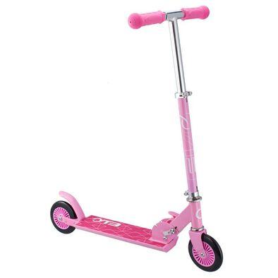 Evo兩輪滑板車-粉色