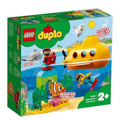 LEGO樂高得寶系列 潛水艇探險