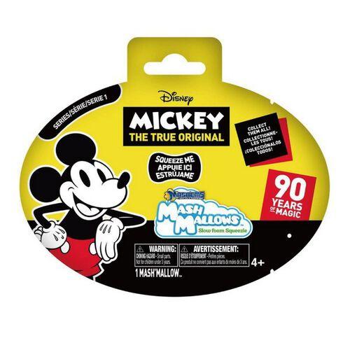 Disney迪士尼 米奇90周年-軟軟棉花糖公仔 - 隨機發貨
