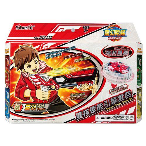 Spin Fighter魔幻陀螺 聚能引擎 雙核靈羽x熾羽鳳凰, 碧幽利刃