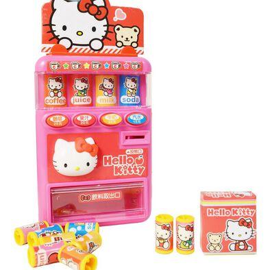 Hello Kitty凱蒂貓hello Kitty自動販賣機