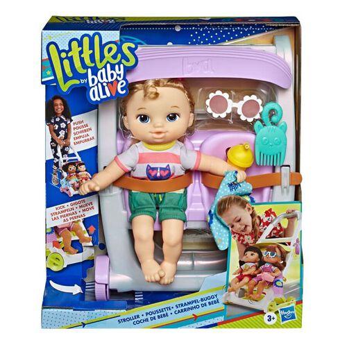 Baby Alive淘氣寶貝 Baby Alive淘氣寶貝 娃娃推車附娃 - 隨機發貨
