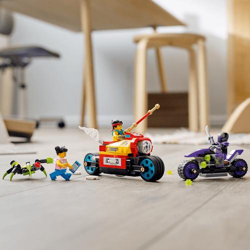 Lego樂高 Monkie Kid 80018 悟空小俠飛旋摩托車