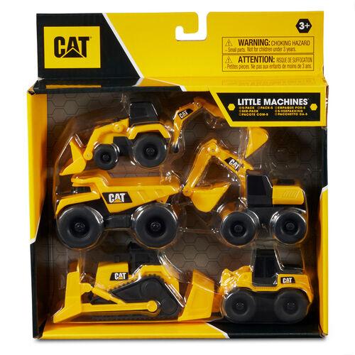CAT 小工程車5入組