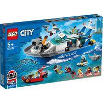 LEGO樂高 60277 警用巡邏艇