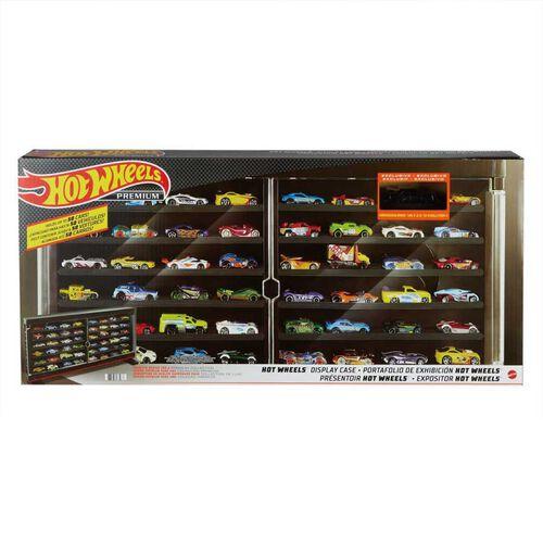 Hotwheels風火輪展示櫃(隨機送一款小車)