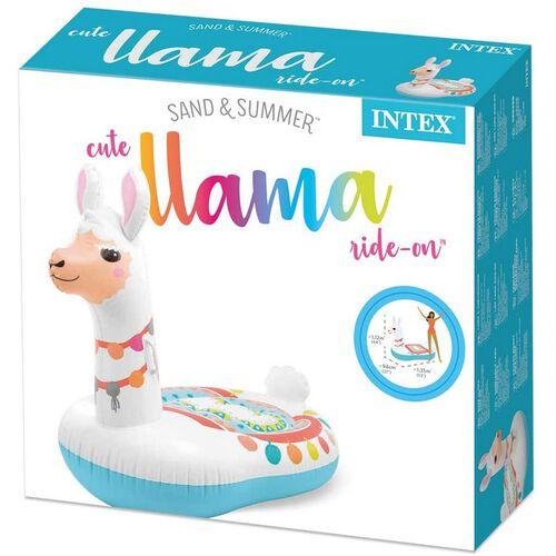 Intex 充氣可愛羊駝座騎